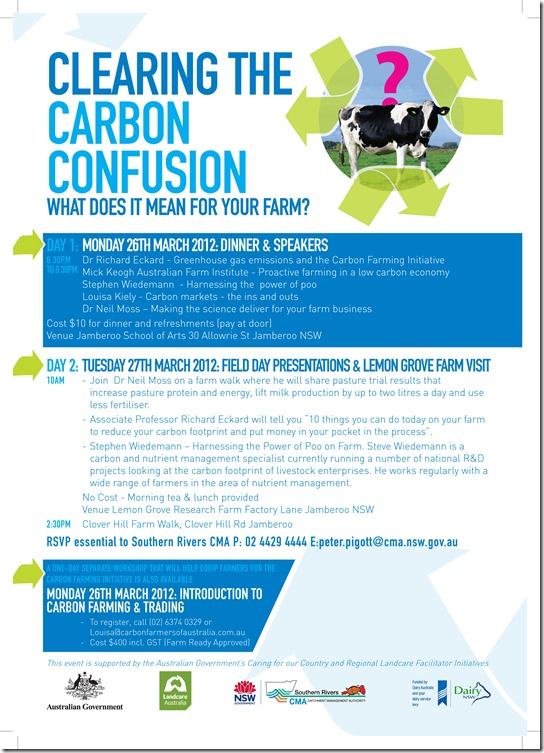 Jamberoo Field Day Lemon Grove Research Farm Flyer