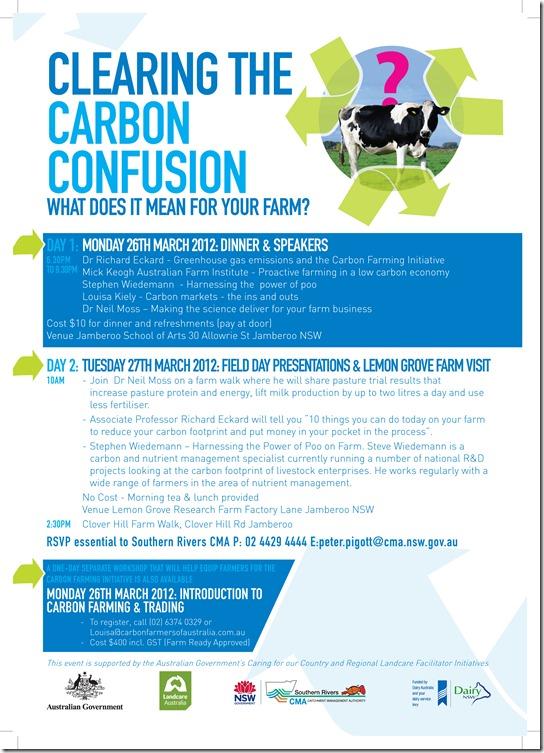 Jamberoo Field Day Lemon Grove Research Farm Flyer