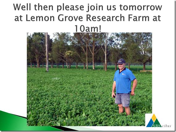 Lemon Grove Research Farm Field Day 0012