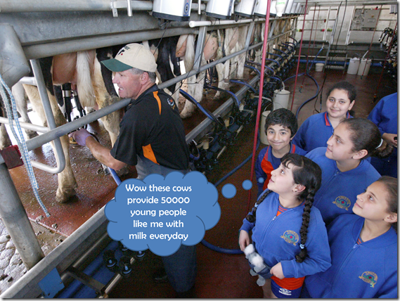 Students in Dairy 0005