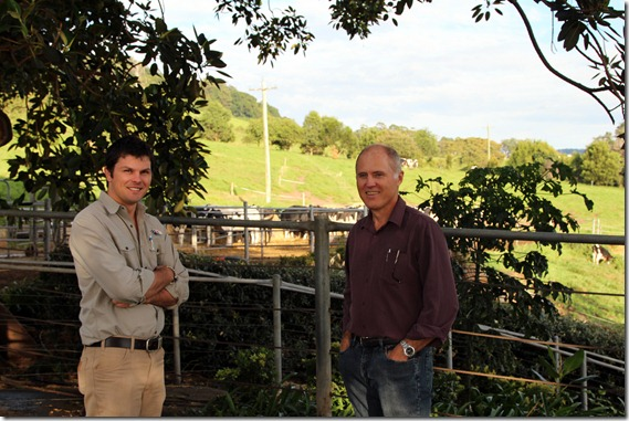 Stephen Weidemann and Dr Richard Eckard