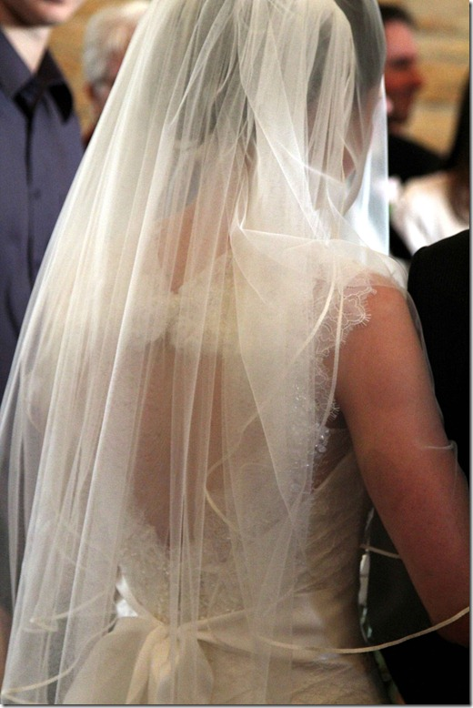 Emma Back of Wedding Dress
