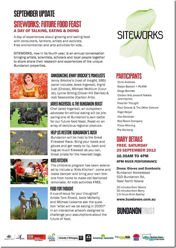 Siteworks_September 2012 update