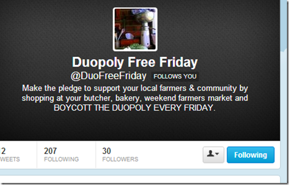 Duopoly Free Friday