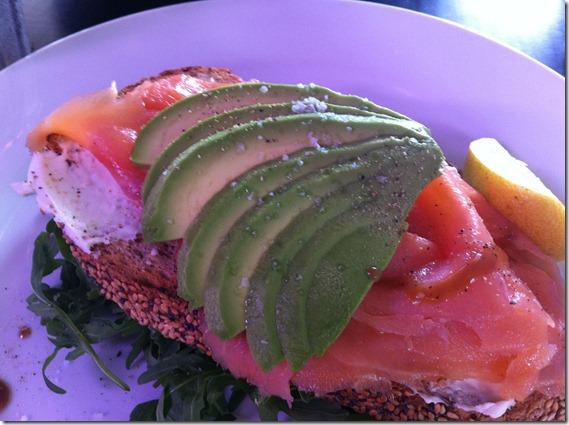Salmon and Avocado Moody Chef