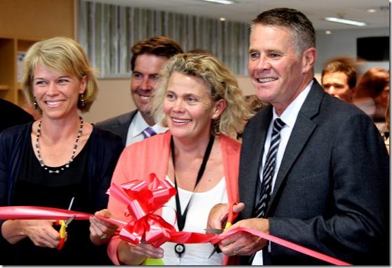 Smiling Faces NSW Farmers opening Katrina Hodgkinson Fiona Simson and Andrew Stoner