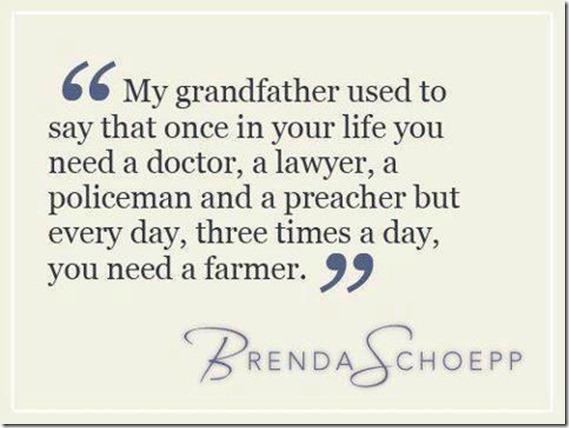 Everyday u need a farmer