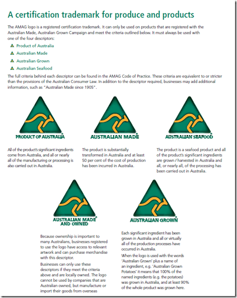 Australian Made Logo Pix