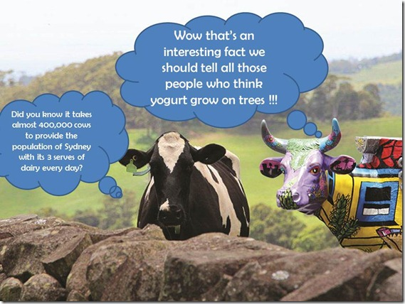 Yogurt grows on trees