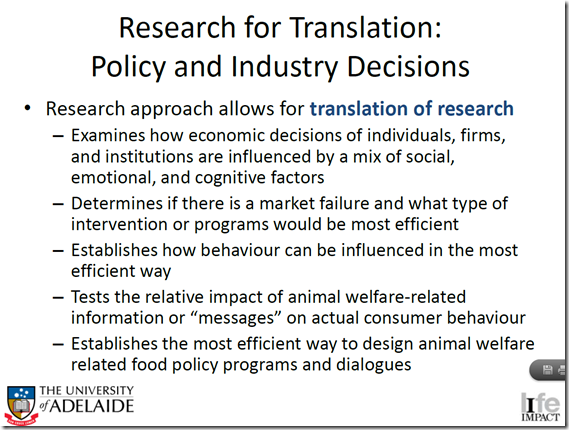 Research from Translation