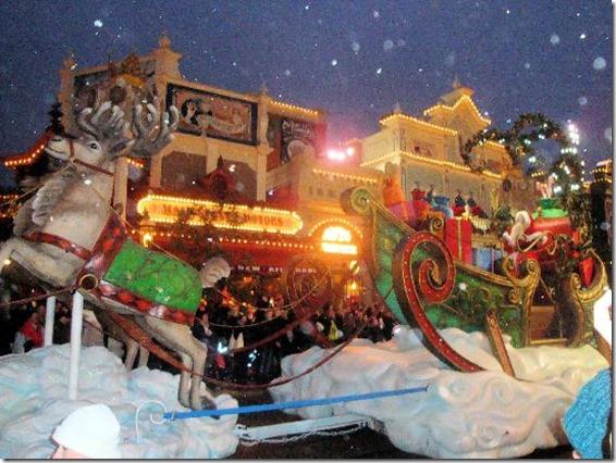 Christmas Disney Land