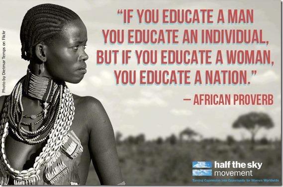 Educate women
