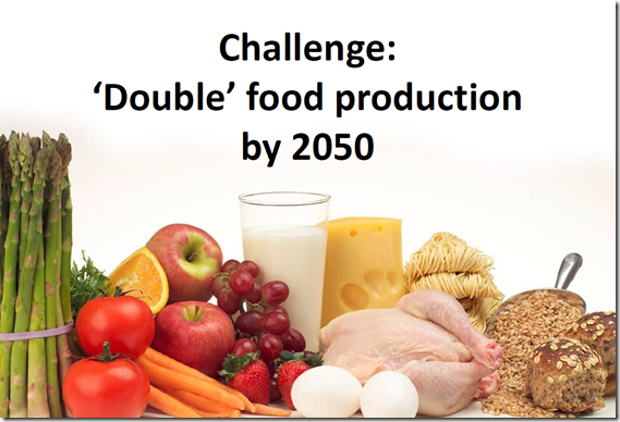 Double Food Production
