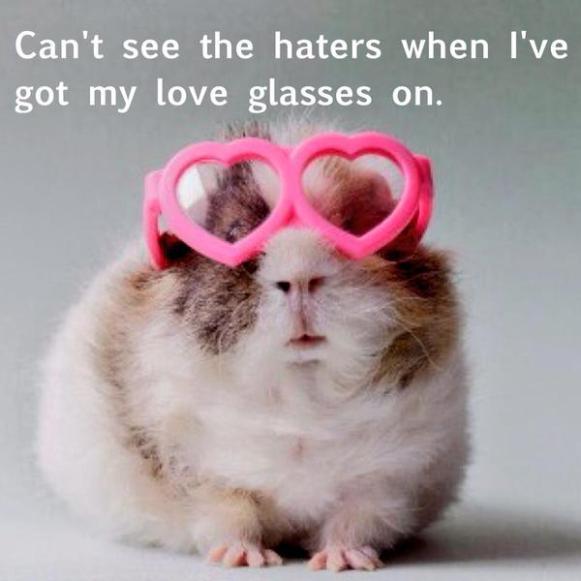 Love glasses