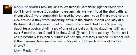 Robin on Facebook