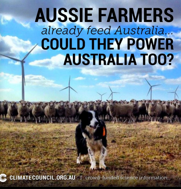 FARMERS FEED US THEY CAN POWER US TOO