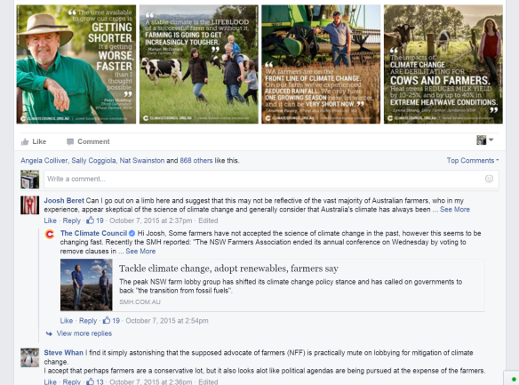 Climate Council Facebook Page