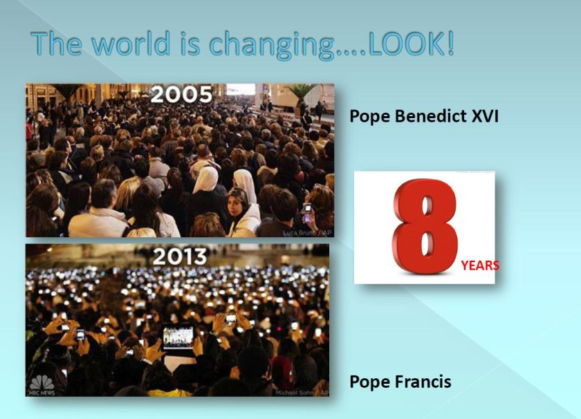the world is changing look