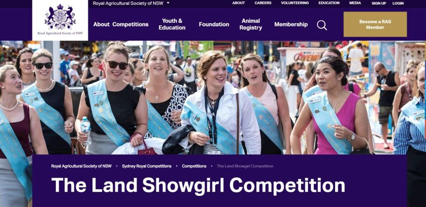 The Land Showgirl Competition.JPG