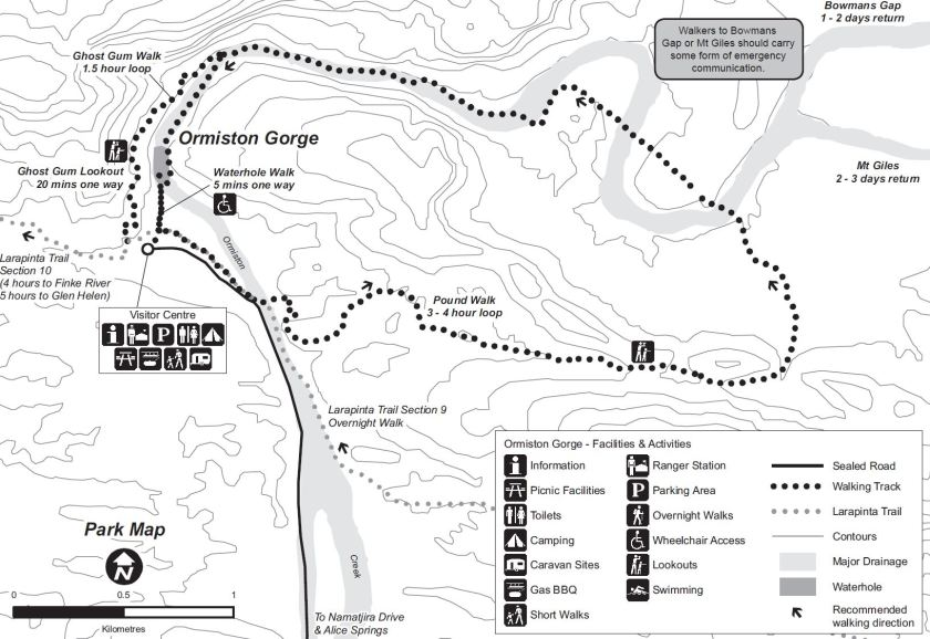 Ormiston Pound Walk Map