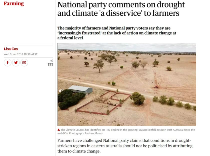 The Guardian National Party Comments on drought and climate a disservice to farmers.JPG